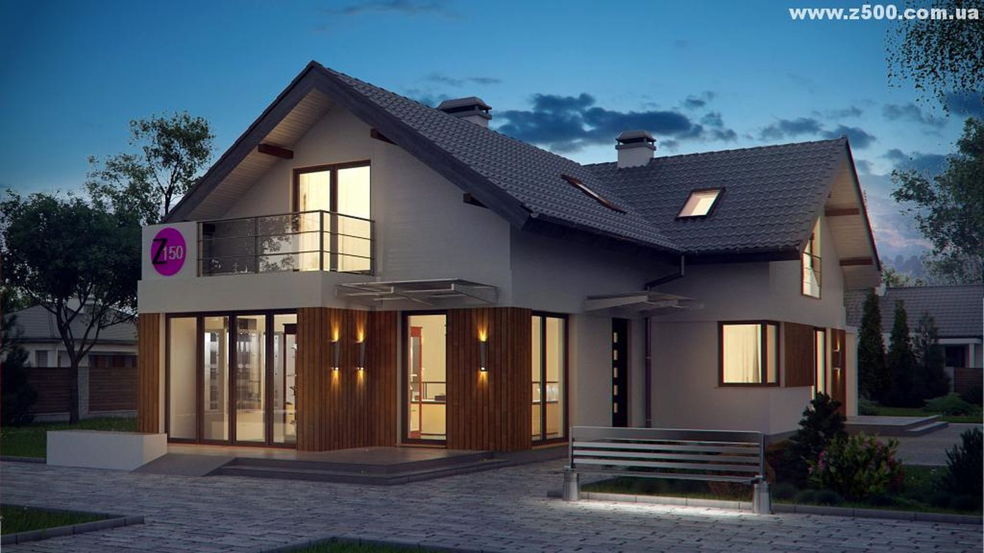 одноэтажные дома по канадской технологии фото